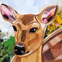 Oh Dear, a Deer! Art Prints & Posters by Megan Coyle