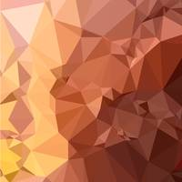 Cordovan Brown Abstract Low Polygon Background