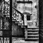 """Stairs in Courtyard"" by andrewparmi"