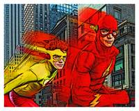 Flash and Kid Flash Poster