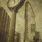 """Flatiron Clock"" by andrewparmi"