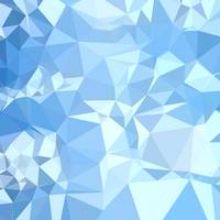 Blizzard Blue Abstract Low Polygon Background