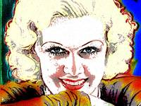 JEAN HARLOW (COLOUR)