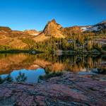 """Lake Blanche at sunset"" by Landscapes"