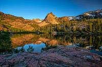 Lake Blanche at sunset