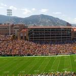 """University  Of Colorado Folsom Field Game Pano"" by lightningman"