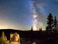 Walking Bridge To the Milky Way