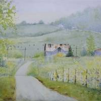 Back Roads 2 Art Prints & Posters by Judy Mudd