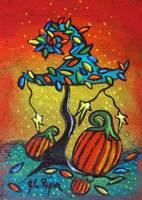 Autumn Celebration III, Panel 1