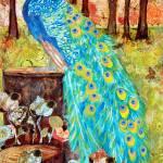 """""""Peacock PreDawn  Peacock Decor"""" by schulmanart"""