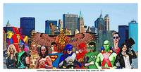 Justice League Defeats Alien Invasion; New York Ci