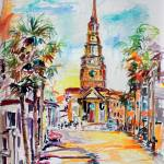 """Charleston Saint Philip Episcopal Church"" by GinetteCallaway"