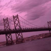 I-74 bridge Infrared Art Prints & Posters by David Genac