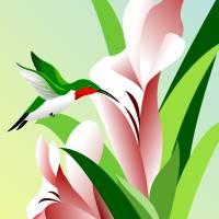 Hummingbird Art Prints & Posters by Pixel Paint Studio