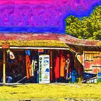 Oyster Hut Art Prints & Posters by Kirt Tisdale