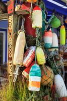 Buoys At The Crab Shack