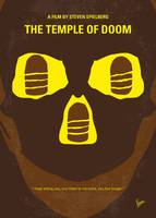 No517 My The temple of doom minimal movie poster