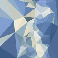 Columbia Blue Abstract Low Polygon Background