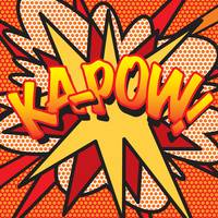 COMIC BOOK KAPOW!