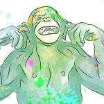 """""""Silly Monkey - Current Mood - Pop Art"""" by wcsmack"""