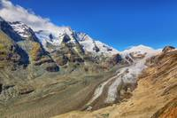 Grossglockner and Glacier