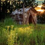 """""""Old Cabin At Sunset"""" by jameseddy"""