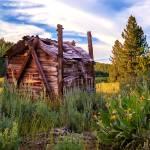 """Old Lumber Mill Cabin"" by jameseddy"