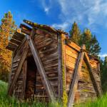 """""""Evening Light On An Old Cabin"""" by jameseddy"""