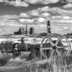 """""""The Old Lumber Mill BW"""" by jameseddy"""