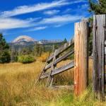 """Broken Fence And Mount Lassen"" by jameseddy"