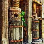 """Vintage Wine Press HDR"" by jameseddy"