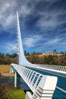 The Redding Sundial Bridge