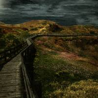 The Long Road Home Art Prints & Posters by RC deWinter