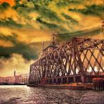 """Milwaukee Swing Bridge"" by RedfoxCreations"