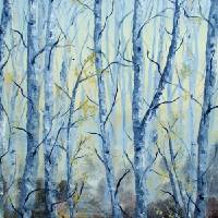 Birch Forest Art Prints & Posters by Seth Larson