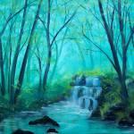 """Viridian Falls"" by SethCamden"