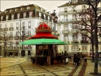 Kiosks Of Lisbon - Camões Square