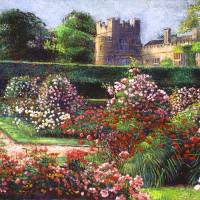 ROSE CASTLE Art Prints & Posters by David Lloyd Glover
