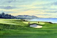 Pebble Beach Golf Course Hole 9