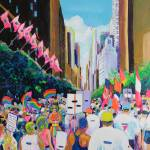 """Walk With Me Gay Pride Parade"" by BeaconArtWorksCorporation"