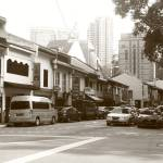 """Street of Singapore in  Monochrome, Killiney"" by sghomedeco"