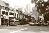 Street of Singapore in  Monochrome, Killiney