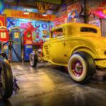 """Hot Rod Garage 1"" by StuartRow"