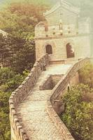 Golden Great Wall of China
