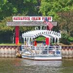 """Saugatuck Chain Ferry"" by RedfoxCreations"