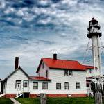 """Whitefish Point Light, Michigan"" by RedfoxCreations"