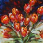 """Brilliant Tulips"" by BCArt"