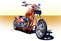2004 H.D. 'Daddy's Dream' Chopper I
