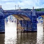 """Harrisburg PA - Market Street Bridge"" by susansartgallery"