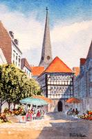 Hattingen Town Square Germany